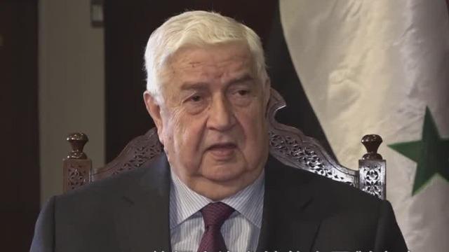 叙利亚外长赞许中国抗疫 称美国针对中国计划必定失败