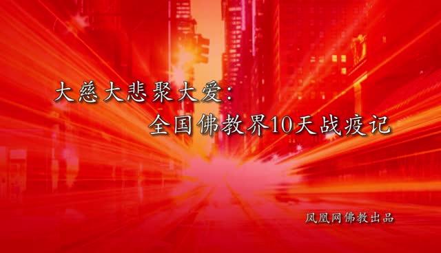 """大慈大悲聚大爱:佛教界10天战""""疫""""记"""