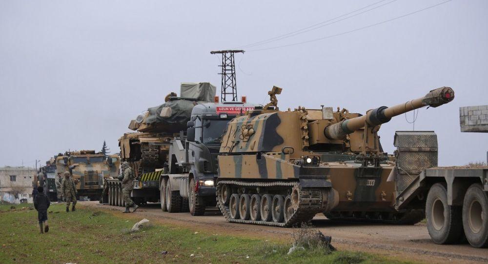 土耳其将特种部队派往叙利亚 还部署了远程火箭炮