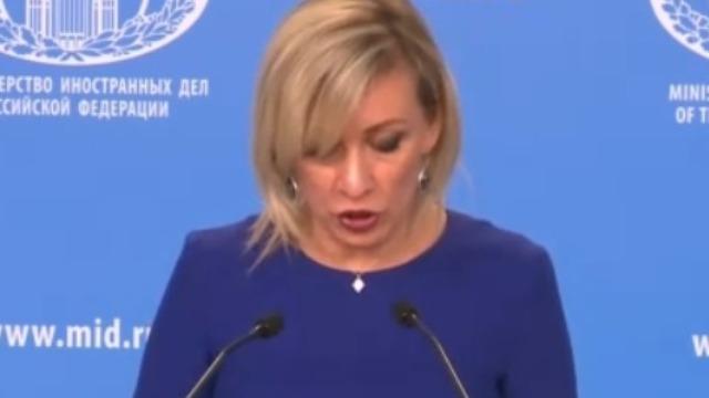 俄罗斯外交部发言人用中文支持中国抗疫
