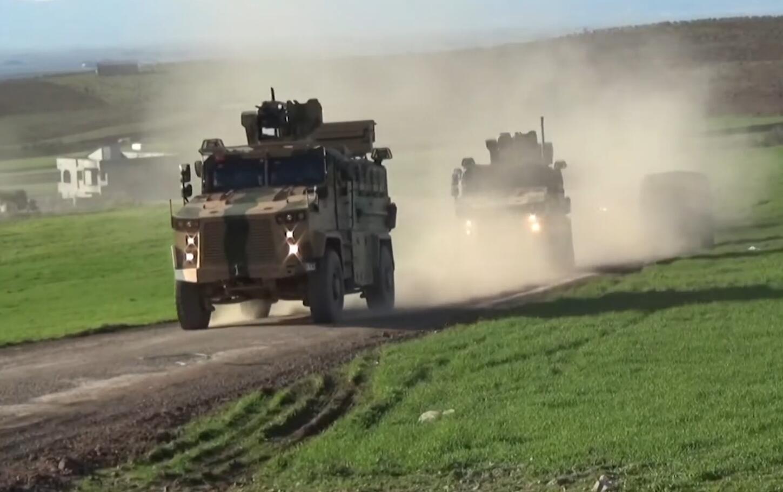 土耳其开炮回击叙政府军 称摧毁3辆坦克1架直升机