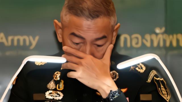 就军人枪击案 泰国陆军总司令含泪致歉:要怪就怪我!