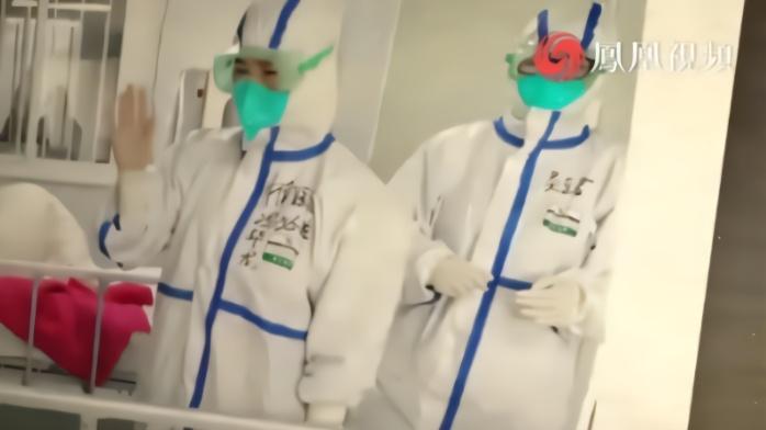 新冠肺炎患者致医护人员:我想看看口罩后你的样子