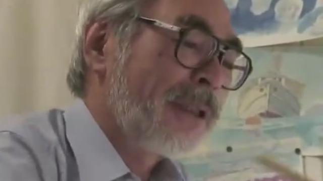 宫崎骏:跟那些艺术家的作品相比 我的作品真是相形见绌