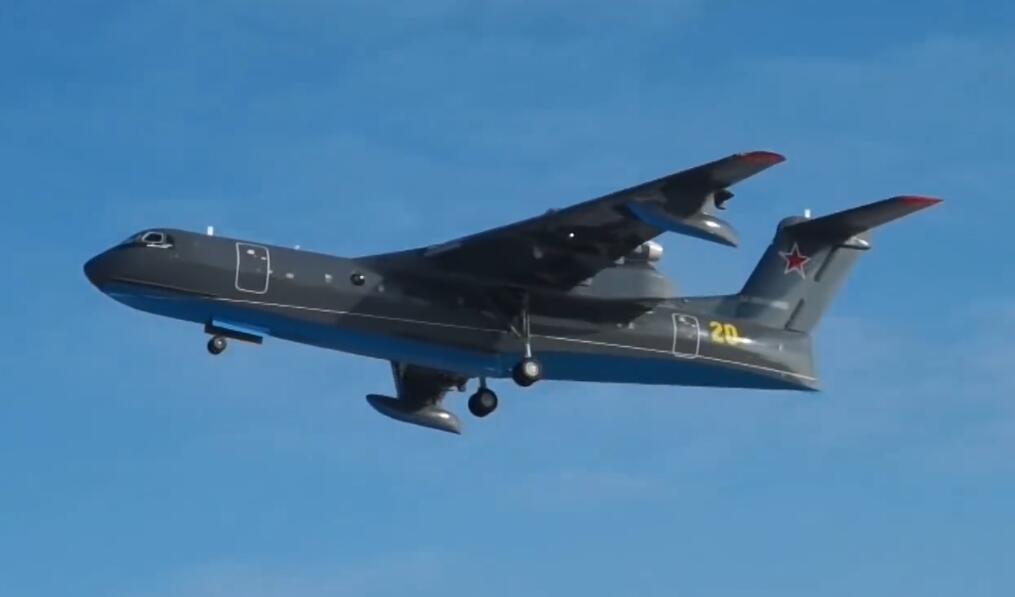 俄海军版别-200两栖飞机首飞 中国已采购4架