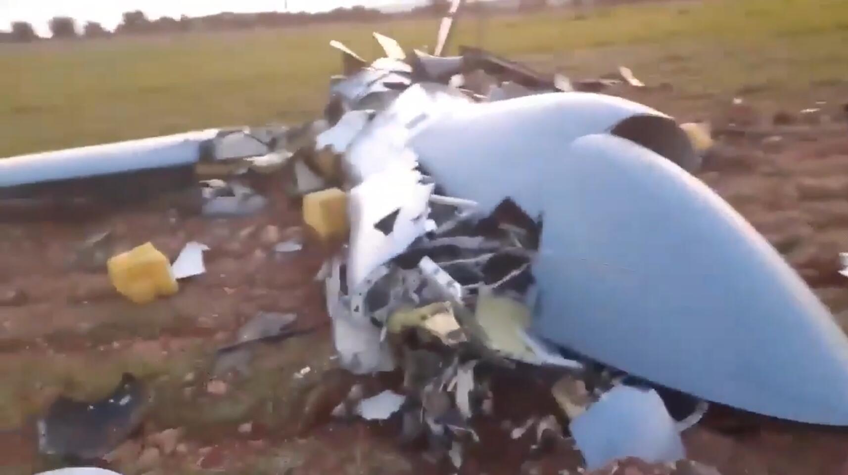 叙利亚击落一架土耳其无人机 当时正准备攻击叙军目标