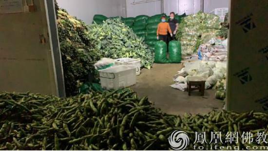 云南大理四家寺院再次筹集100余吨蔬菜驰援武汉