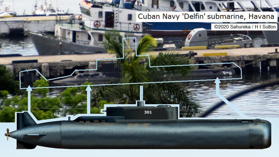 世界最神秘潜艇意外曝光 15年来只有两张照片