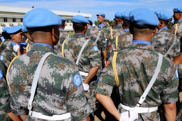 数量质量双提升 中国将改进联合国维和行动模式