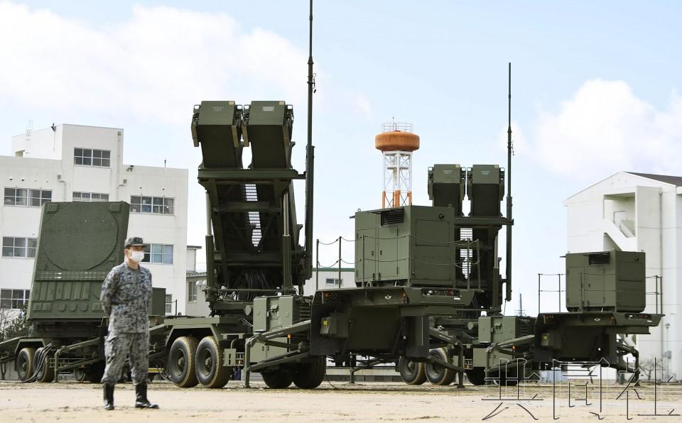 """日本""""爱国者3""""部队出动演练 称为防备朝鲜导弹"""