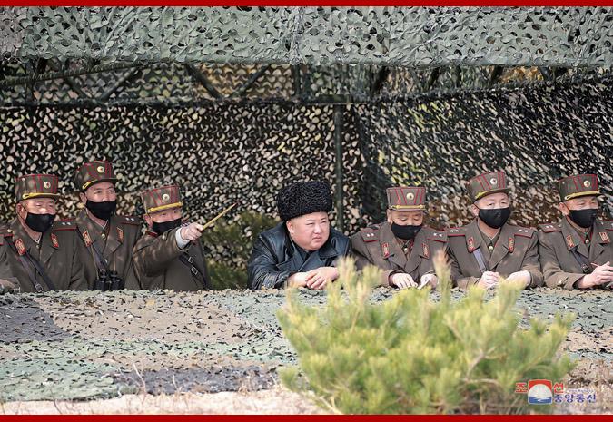 金正恩指導炮兵部隊炮射擊對抗賽:今后要經常組織激發好勝心