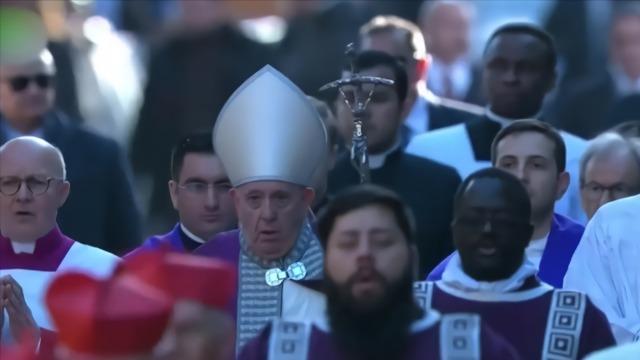 疫情当前 教皇也开直播了