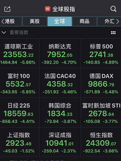巴西股市再次熔断 全球资本市场全军覆没