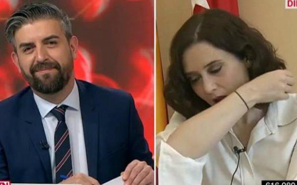 西班牙马德里自治区主席确诊 曾在采访中咳嗽并称是过敏