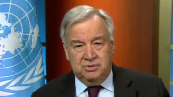 """联合国秘书长:全球经济将""""破纪录""""衰退"""