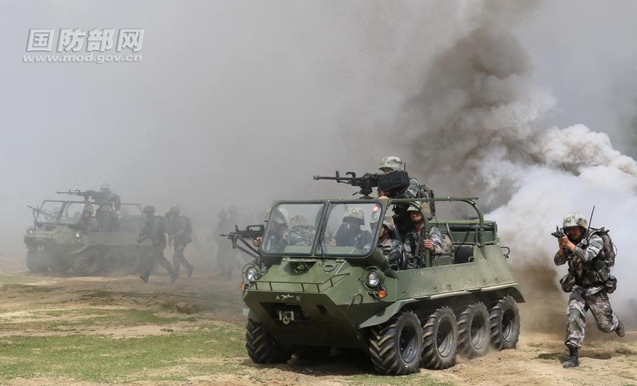 合成营成为陆军机动作战基本单元 立体攻防能力大幅跃升