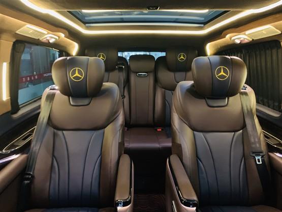 19新款国六奔驰V260 老板最喜欢座的保姆车