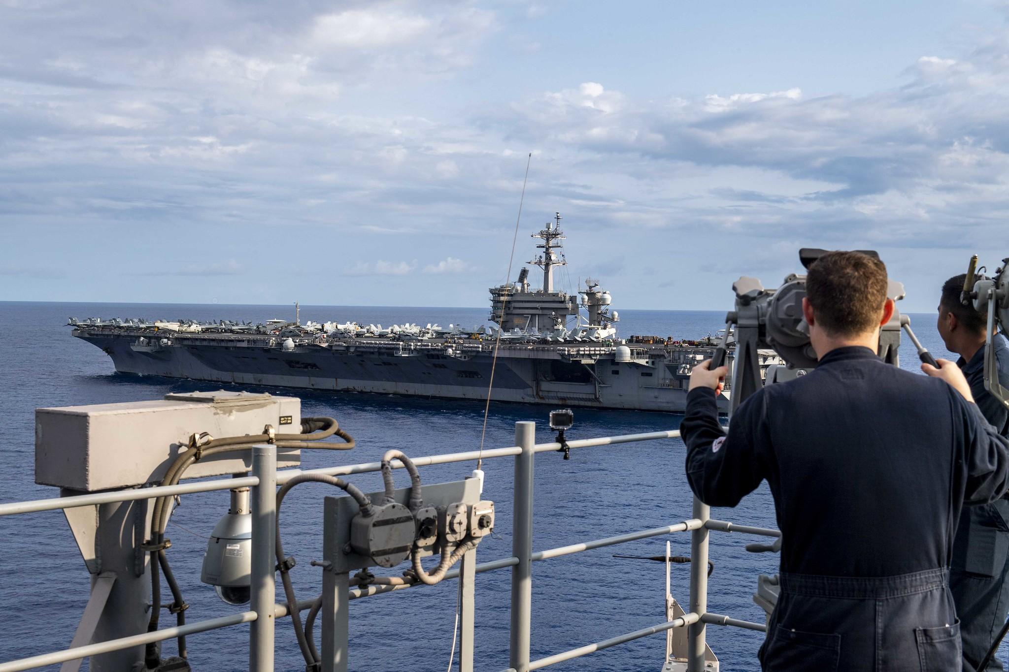 美国罗斯福号航母上又有5名水兵新冠病毒检测阳性