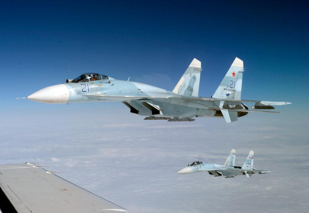 俄军一天内两架战机坠毁 1名飞行员身亡1名仍在搜救