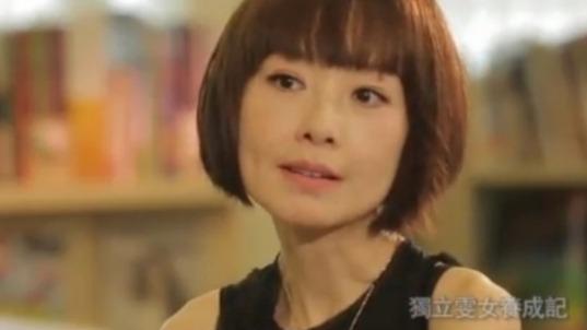 邓萃雯表示自己的童年比较孤单 鲁豫:没有安全感吧!