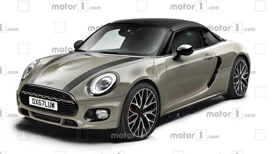 全新Mini运动版车型假想图曝光 引擎中置
