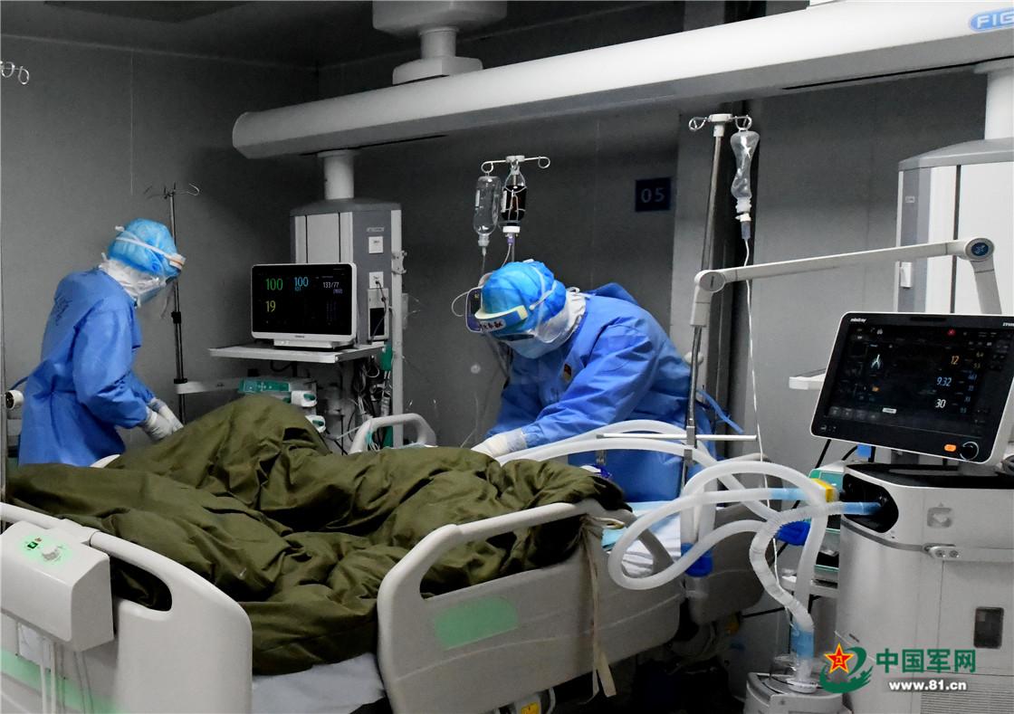 惊心动魄!火神山医院ICU病房里的生死时速
