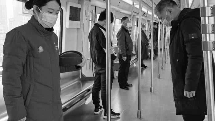 武汉市民默哀3分钟