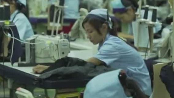缅甸纺织服装制造厂 近300家为中国企业投资