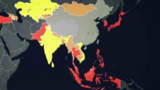 驻日美军确诊新冠肺炎病毒 非洲三国进入紧急状态