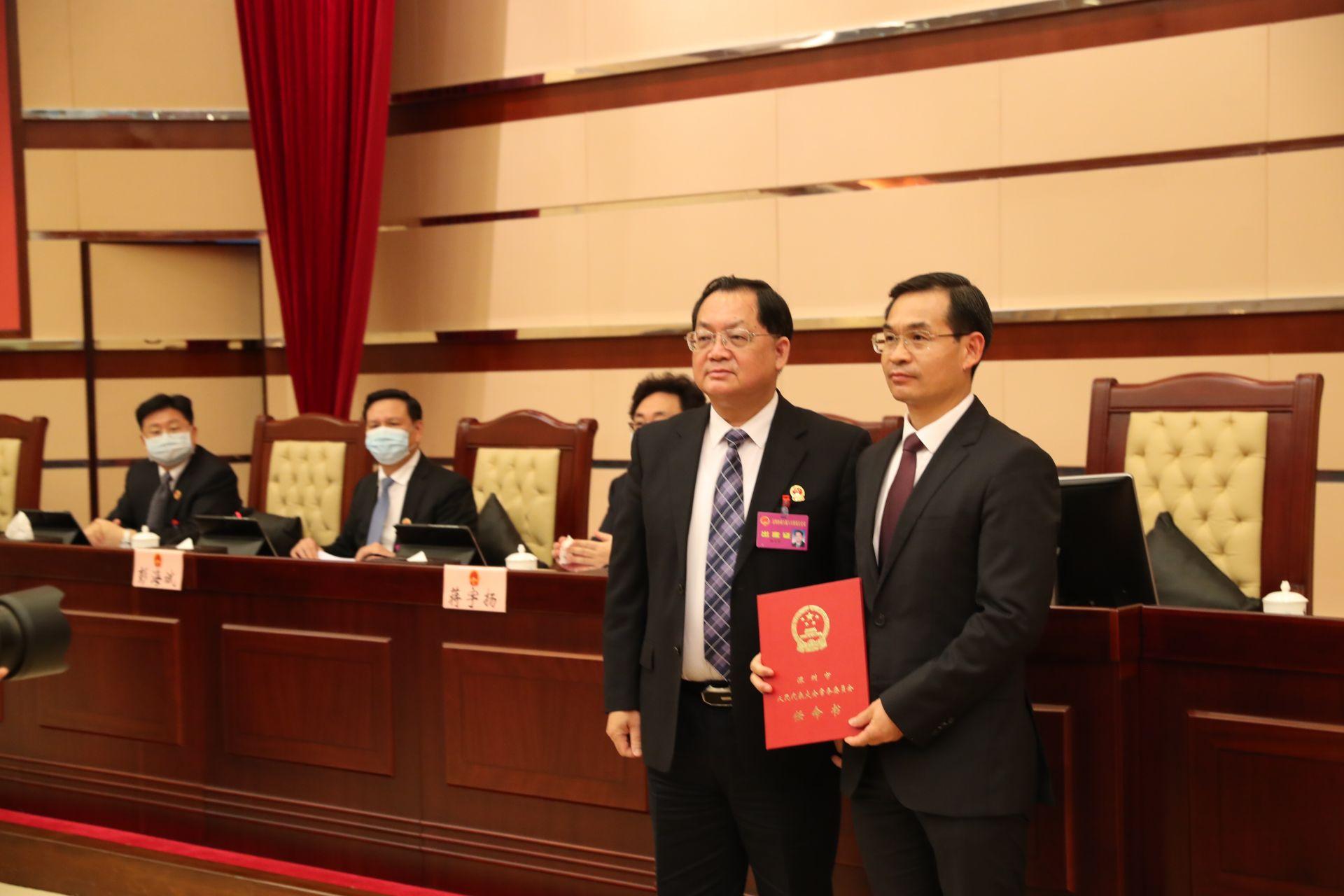 聂新平任深圳市副市长