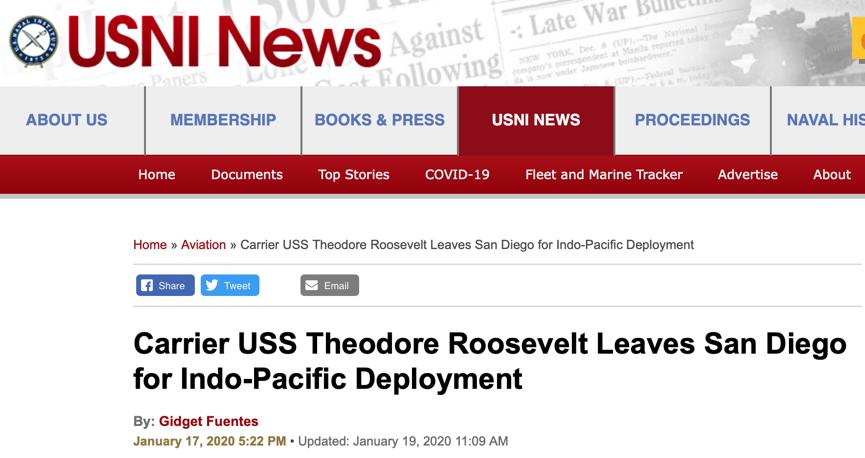 航母疑云!美军海外重地戒备森严 何以出现严重疫情?