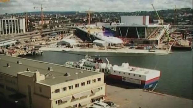 建筑师让造船主提供木料 只为保证奥斯陆歌剧院的精美