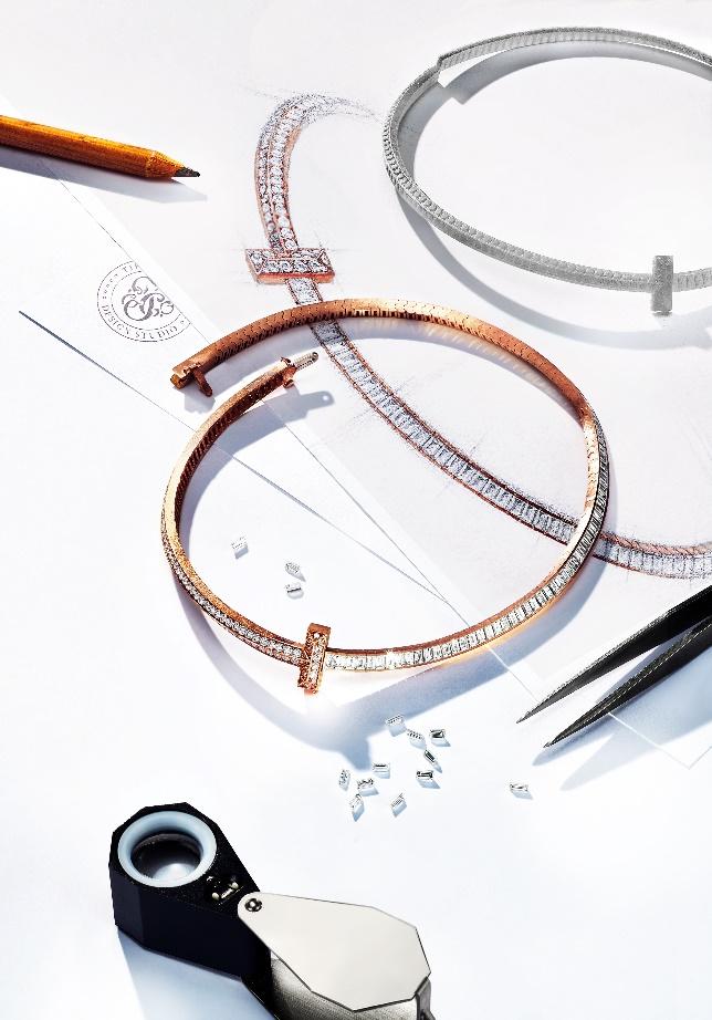 蒂芙尼呈现全新摩登力作Tiffany T1系列珠宝