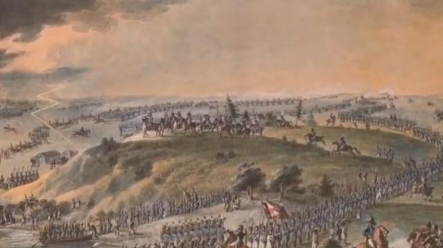 拿破仑的士兵穿过尼曼河后 俄国民众向沙皇请命迎战