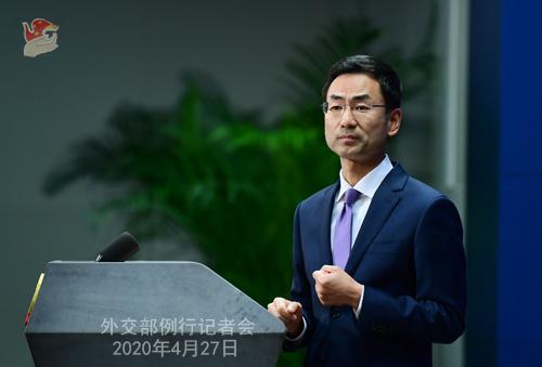 中聯部部長宋濤已赴朝鮮?外交部回應