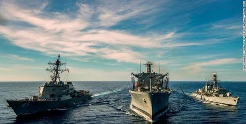 快回家吧,美国大兵!你们的敌人不在南海