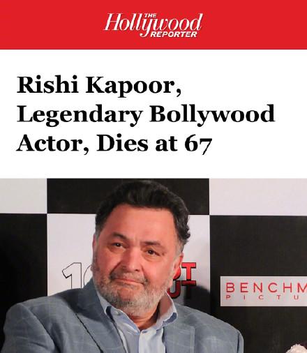 寶萊塢老牌演員里?!たㄆ諣栆虬┌Y并發癥去世,享年67歲