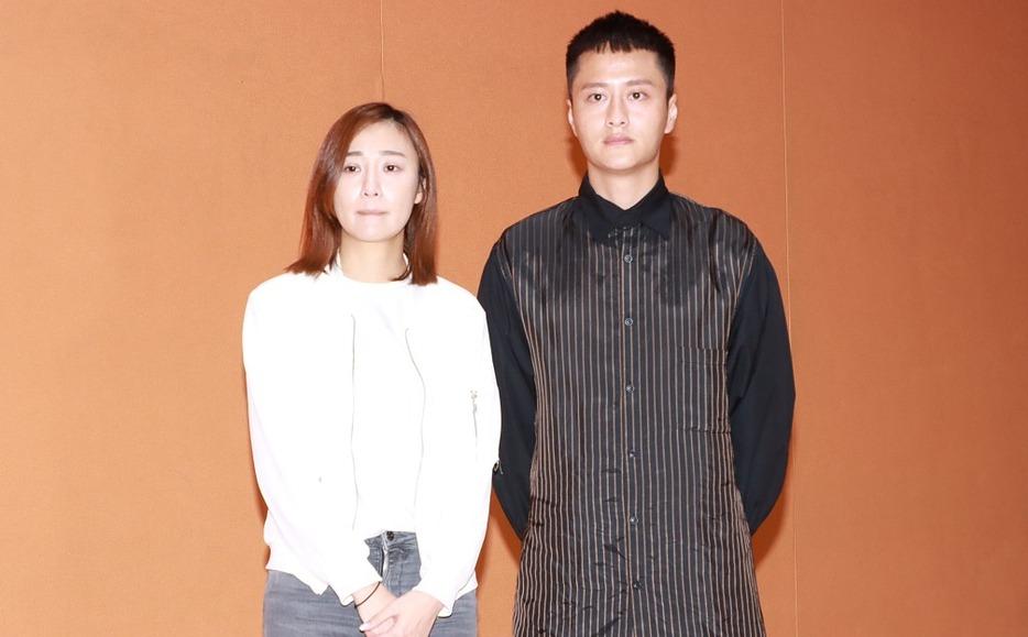 前港姐朱智贤召开发布会承认出轨,男友谢东闵愿意原谅她并陪她度过难关