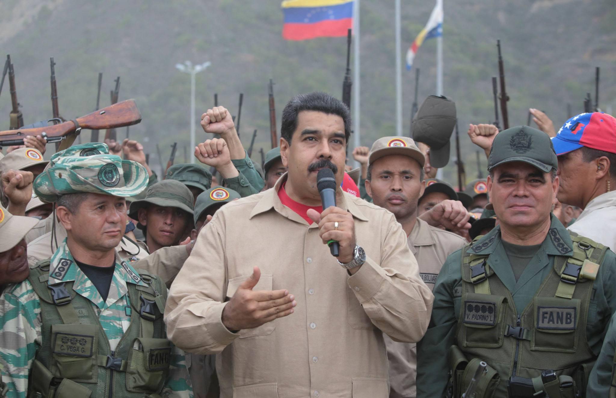 雇佣兵入侵多人被打死!委内瑞拉宣布挫败政变图谋