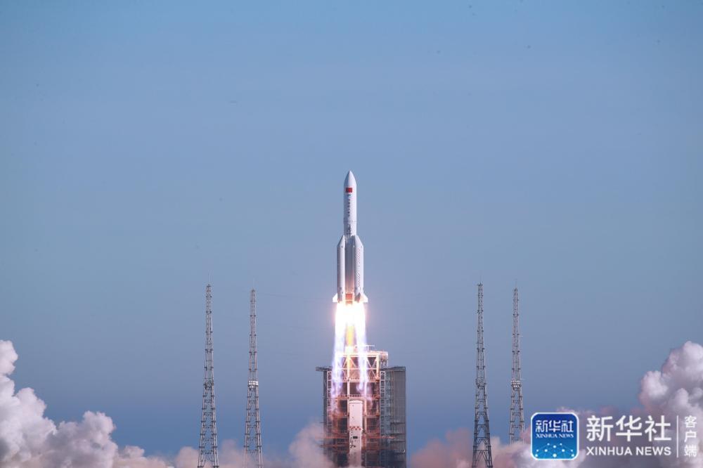 祝贺!长征五号B运载火箭首飞成功