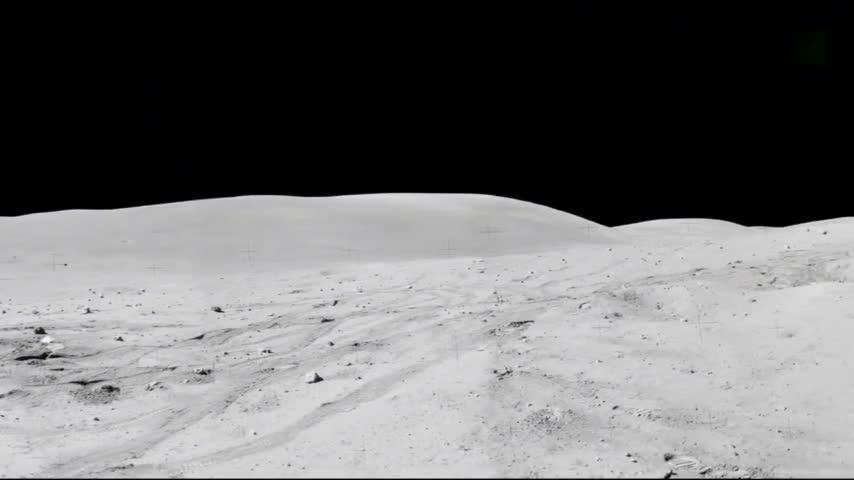 阿波罗11号宇航员登陆月球留下的装备还在月球上
