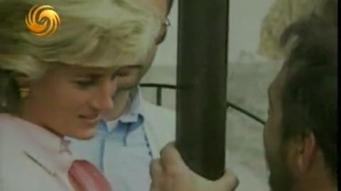 戴安娜乘坐私人飞机去往巴黎 狗仔队令安保人员很头疼