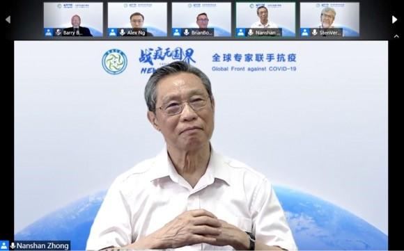 钟南山:如果不靠疫苗获得群体免疫 全球会死4500万人
