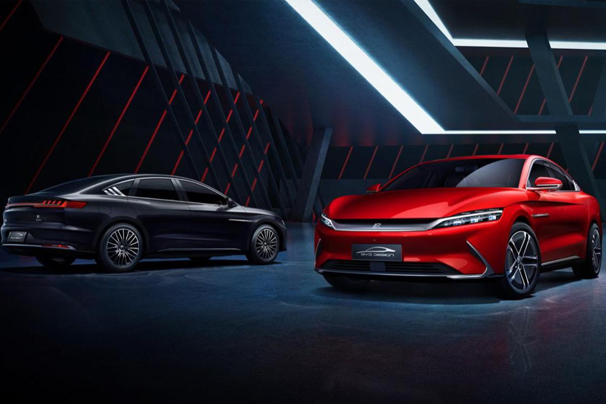 比亚迪汉EV欧洲首发 预售约合35.6万人民币起