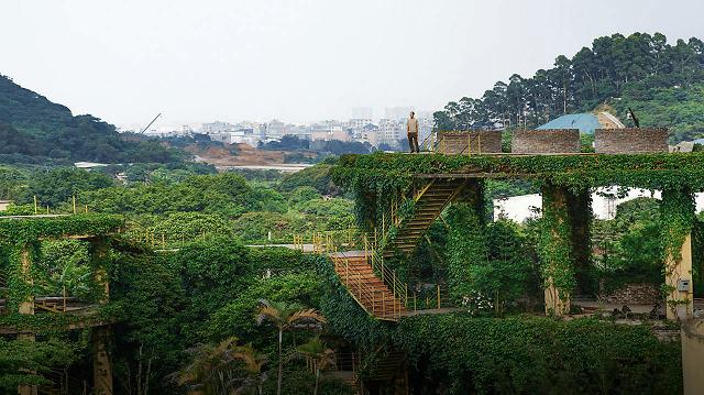 一个广东宅男,把游戏场景搬进30000m²的后花园