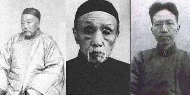 ▲陈宝箴、陈三立、陈寅恪祖孙三代