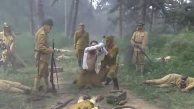 樱木将军想要切腹谢罪 遭到井上和藤野矢的劝阻
