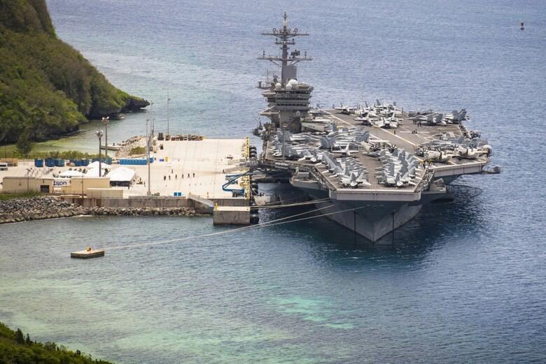 """14名船员2次感染之后 """"罗斯福""""号航母摩拳擦掌准备出海"""