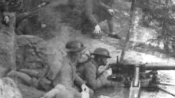 1942年韩国临时政府向日本宣战 美国派军事顾问训练韩国士兵