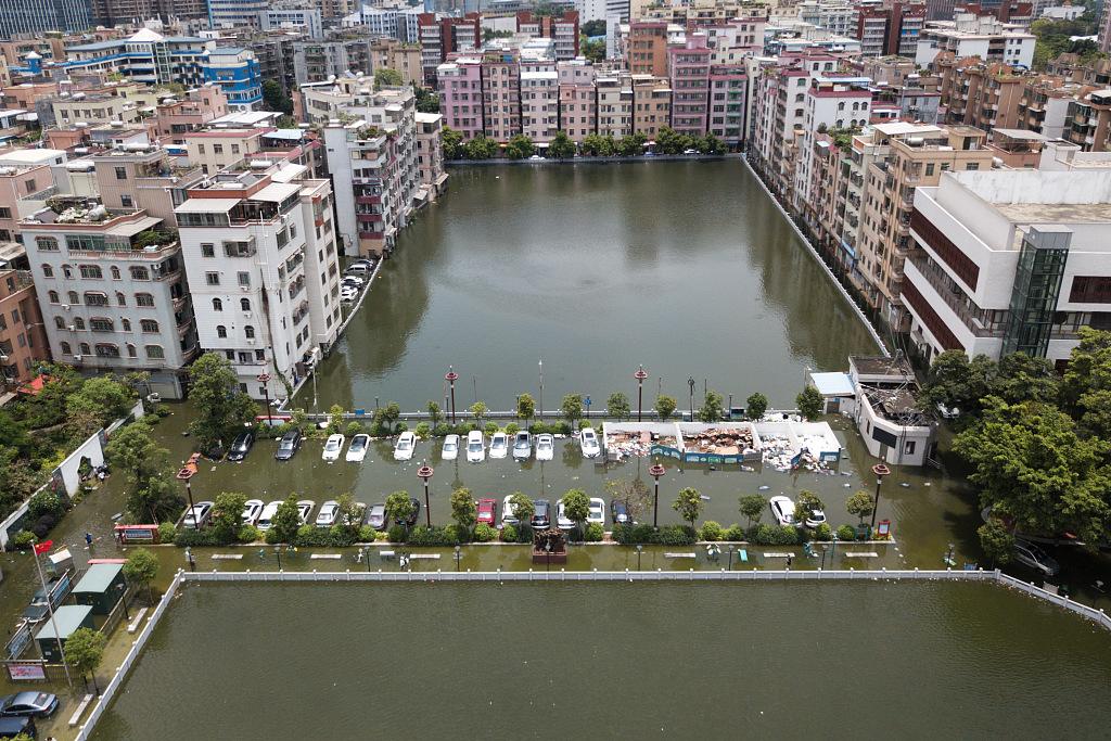"""广州""""一夜成河"""":破历史纪录强降雨致4人死亡"""